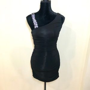 BEBE Sequin Mini Dress!
